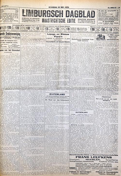 Limburgsch Dagblad